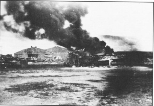 Clark Airfield, 8 Dec 1941