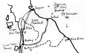 Sketch of the Invasion of Thailand and Malaya
